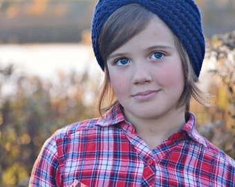 Custom Crochet Ear Warmer,  Ribbed Winter Headband,  Turban Style Head Wrap,  Made  to Order