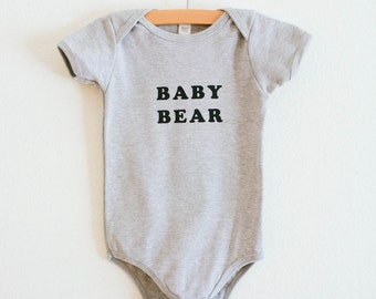 Baby Bear bodysuit, by The Bee & The Fox