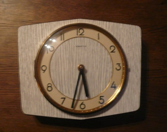 Clock Vintage Sixties Clock Brand Vedette French