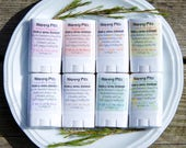 Happy Pits Vegan Natural Deodorant Starter Pack! 8 Sample Fragrances