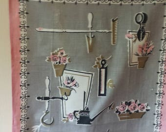 Reserved for N Beautiful Vintage Kitchen Towel