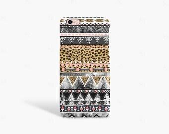 iPhone 7 Case Leopard Print iPhone Case Boho iPhone 6 Case Leopard iPhone Case Tribal iPhone Case iPhone 6s Case Leopard