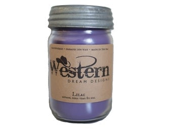 Lilac Soy Candle