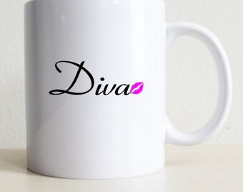 Diva Gift Mug | College Student Gift | Girlfriend Gift | Best Friend | Gifts For Her | Coffee Mug | Tea Mug | Birthday Gift | Fast Shipping