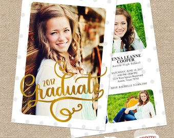 Jenna Graduation Announcement