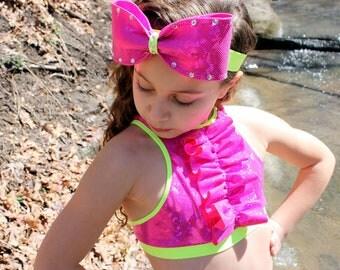 headband, girls headband, hair bow, girls hair bow