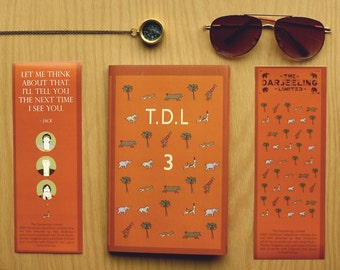 The Darjeeling Limited ( Sketchbook / Notebook )