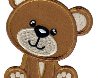 Baby Bear Iron-On Patch Applique - Kids / Baby