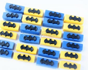 Batman Birthday Batman Cake Pops Batman Cookies Superhero Birthday Batman Party Favors Batman Logo Batman Robin Super Hero Favors Chocolates