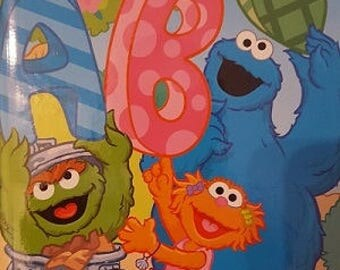 Sesame Street: ABC and Me  - A Children's Personalized Hardcover Book