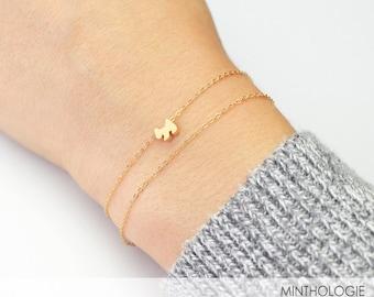 Dog Bracelet B17 • Puppy Bracelet, Tiny Dog Bracelet, Dainty Bracelet, Gold Bracelet, Gold Dog Bracelet, Pet Bracelet