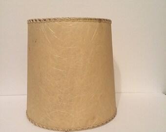 Mid Century Fiberglass Lamp Shade