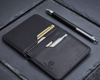 Vaultskin CITY Slim Bifold Wallet with RFID Protection for Cards and Cash