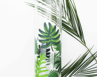CLOSEOUT | Tropical Palm Tree Large Vase