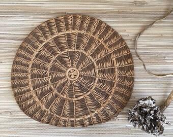 Early Seminole Pine Needle + Sweet Grass Mat