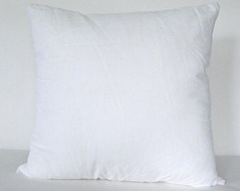 16x16 pillow insert