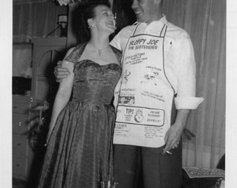 Vintage Photo..Christmas Cheer, 1950's Original Found Photo, Vernacular Photography