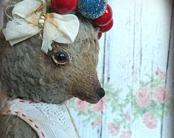 "Art OOAK Teddy bear Retro ""Rada"""