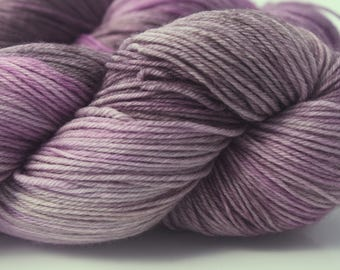 """Peachface Fingering """"Wisteria Arbour"""" Hand Dyed Yarn"""