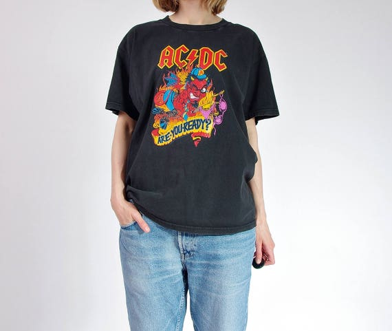 SALE - Ac/Dc Are You Ready vintage tshirt / Size M-L