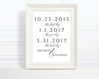 2018 SALE: Wedding Engagement Sign,  Instant Download, Wedding Sign, Printable Wedding Sign, 8x10, Editable DIY Sign, Just Said Yes