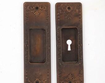 Antique Bronze Pocket Door Pulls 532038