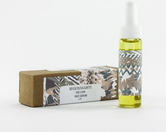 Face Oil Serum / The Cure / Handmade Facial Oil with infused botanicals and anti aging oils