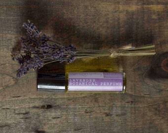 Lavender essential oil perfume roller