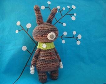 Gooroomi Amigurumi Bunny with Scarf - Item #ami0023