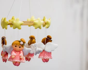 Baby Mobile with angels