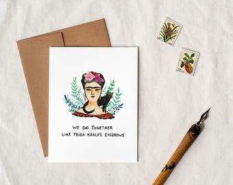 Frida Kahlo - Greeting Card