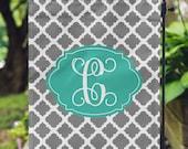 Garden Flag - Personalized Garden Flag - Custom Flag - Personalized Yard Flag - Quatrefoil Flag - Wedding Gift - Housewarming - Double Sided
