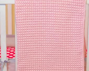 Simply Squares Crochet Pattern | Baby Blanket Pattern | Crochet Blanket