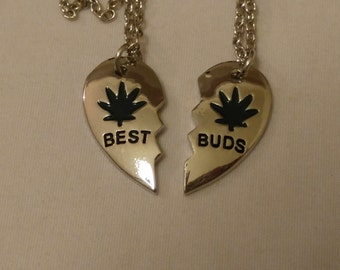 best buds necklace etsy