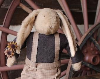 Damon- Primitive Fur Bunny Rabbit