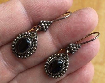 Onyx Earrings -- 503
