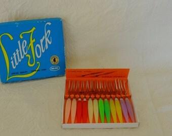 Forks vintage, mini bands of the 1960s, snail forks, forks happy hour