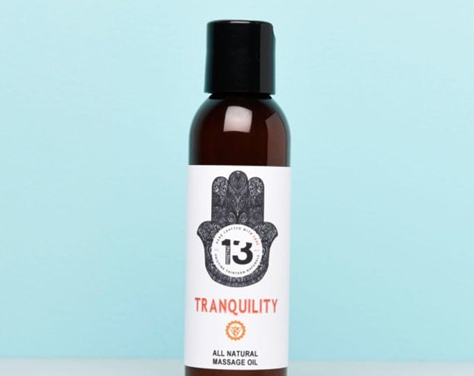 Tranquility Massage Oil (Pumpkin Pie, Cinnamon and Clove)