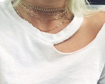 Light my fire choker, necklace, 24k gold Choker, Choker, Gold choker,  gold jewelry, gold necklace, boho, bohemian