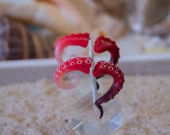 Flesh and Blood fake gauge earrings