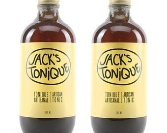 2 x 500 ml - Jack's tonic