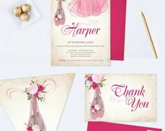 Bunny Birthday Invitation PDF Edit Now Invite Template - 1st birthday invitation template girl