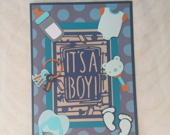 It's A Boy Baby Card