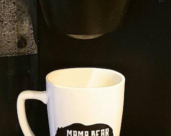 Mama Bear coffee Mug - mama bear cup - mama bear - birthday gifts for mom - mom coffee mug- coffee mug for mom - gift ideas for mom - coffee