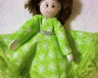 Clothespin Doll 11