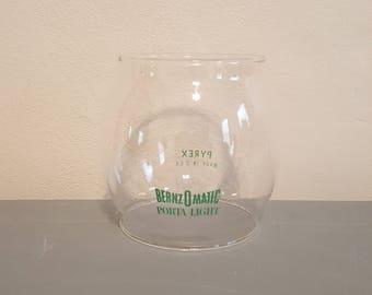 Bernzomatic porta light lantern Glass globe
