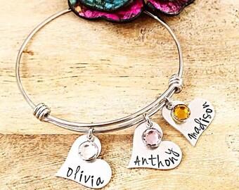Hand Stamped Jewelry par LastingImpressionsCT sur Etsy