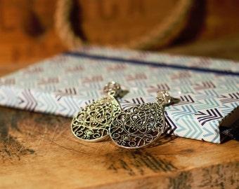 Orecchini pendenti con pendente / Ear-pendants with pendant