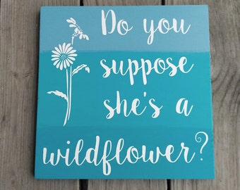 She's a Wildflower