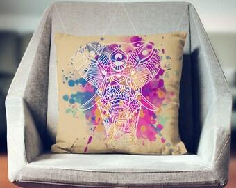Elephant Cushion   Elephant Decoration   Elephant Pillow Cover   Elephant Pillow   Elephant Décor   Elephant Gift   Elephant Throw Pillow  